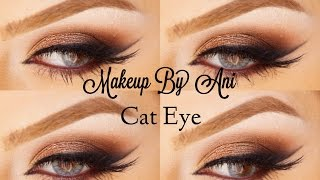 Cat eye smoky makeup look using Morphe Makeup by Ani Thumbnail