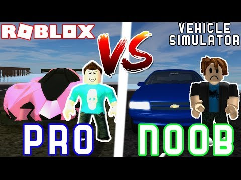 Roblox Noob Vs Pro Vehicle Simulator Youtube Pro Vs Noob In Vehicle Simulator Ft Seniac Roblox Vehicle Simulator Youtube
