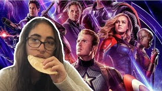 Avengers: Endgame spoilers except there are no spoilers and it's just me eating a toasted tortilla