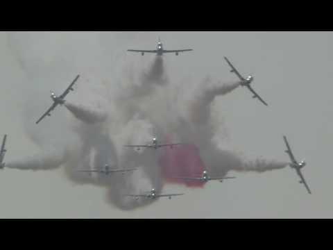 Dny NATO 2016 - nácvik Frecce Tricolori
