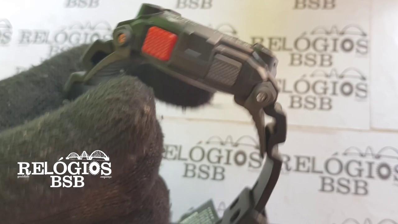 8049e470bbe Casio G-Shock G-7900-1DR - Relógios BSB - YouTube