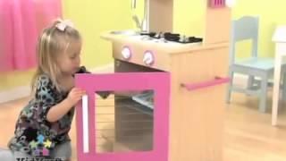 Kidkraft Pink Wooden Kitchen Odyssey Homestore Kids