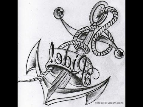 Desenhos Para Tatuagem Variado Preto E Cinza Youtube
