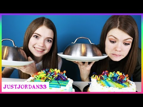 Crazy Cake Switch Up Challenge / JustJordan33