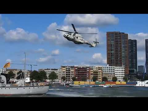 Special Forces (Marines) pirate hijack demonstration. Wereldhavendagen 2017