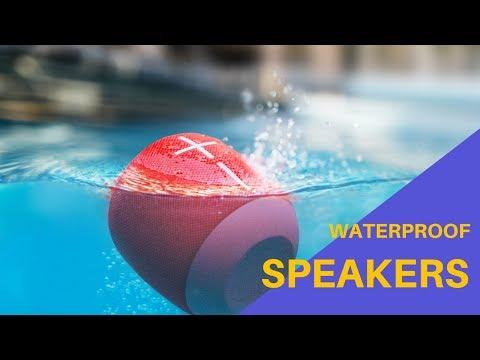 Best Waterproof Speakers - Top 5 Bluetooth Speaker For Shower (2018)