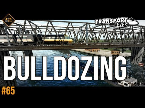 Bulldozing established towns : Transport Fever The Alps #65