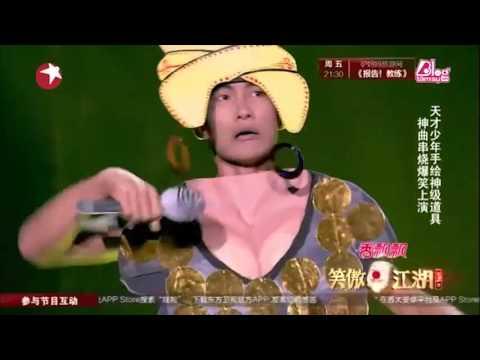 Màn hát nhép của chàng Monalisa khiến cả Trung Quốc vỡ òa