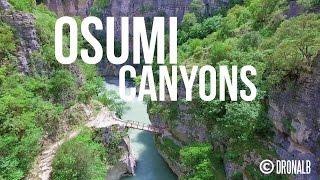 Kanionet e Osumit - Osumi Canyons by Drone    DronAlb