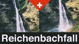 Mit der Standseilbahn zum Reichenbachfall - Meiringen im Haslital in the Swiss Alps