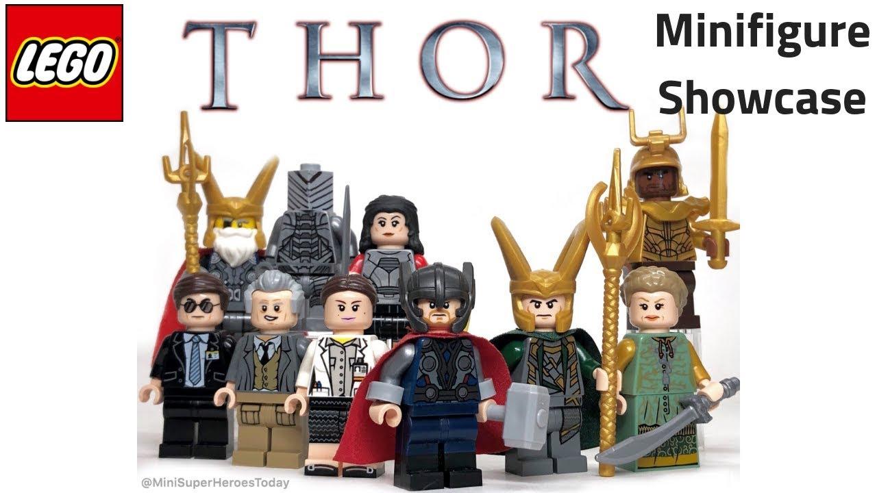 Thor Endgame Lightning Charged Minifigure Figure Custom Minifig 109