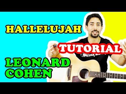 🎸 LEZIONI DI CHITARRA PRINCIPIANTI: Hallelujah - Leonard Cohen (TUTORIAL CANZONI FACILI)