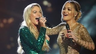 Rita Ora and Louisa Johnson sing  I am Telling  The X Factor UK 2015