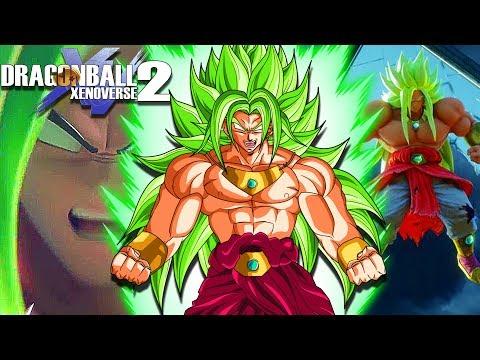 ULTIMATE GOD BROLY! Super Saiyan God Broly's Survival Challenge | Dragon Ball Xenoverse 2 Mods