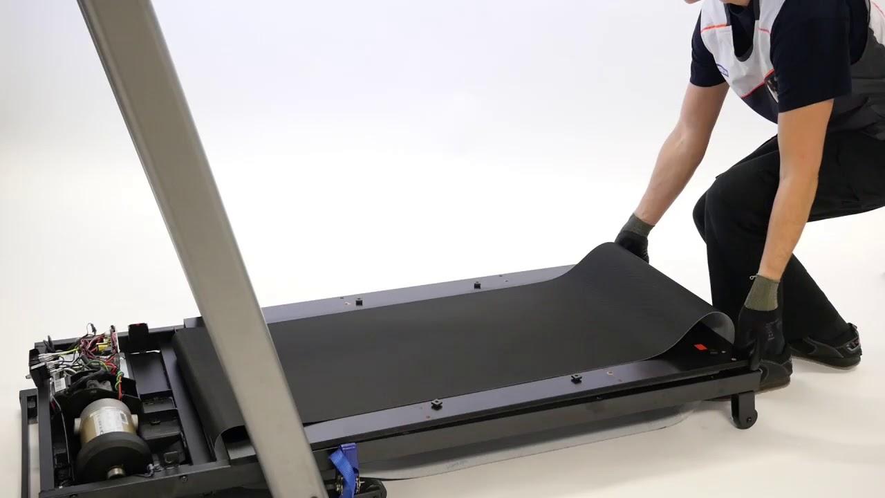 comment changer la planche sur un tapis de course t540a b c