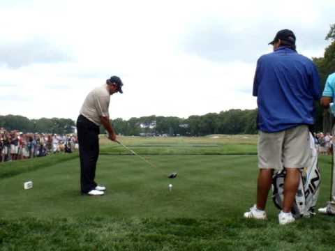 Angel Cabrera 2009 US Open - fast golfer?!