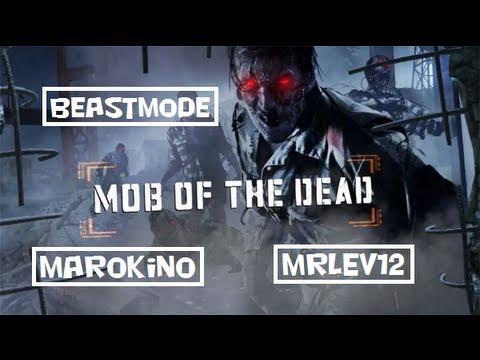 "Découverte map zombie ""Mob of the Dead"" avec Beastmode 3 et Marokino"