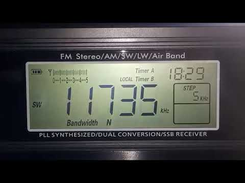11735 KHz ZBC Radio ( Tanzânia ) in swahili