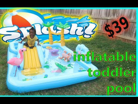 INTEX PLAY CENTER JUNGLE ADVENTURE UNBOXING + PLAYTIME