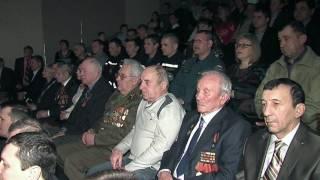 В Новошахтинске поздравили защитников Отечества