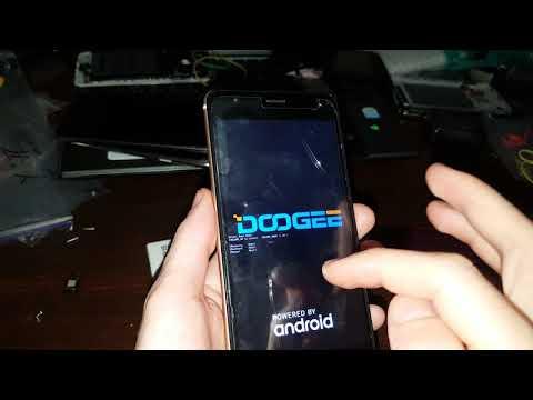 Doogee X20 Hard Reset сброс настроек графический ключ пароль зависает тормозит висит How To Reset