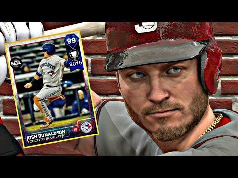 99 JOSH DONALDSON DEBUT!! MLB THE SHOW 17 DIAMOND DYNASTY