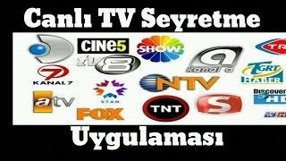 Canlı Televizyon TV İzle Seyret Türk Canli Tv Uygulama İncelemesi