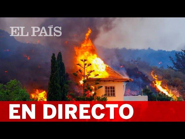 DIRECTO | La LAVA del VOLCÁN de LA PALMA se acerca al MAR