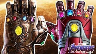 Почему Перчатка Тони Старка гораздо сильнее Перчатки бесконечности Таноса - МСТИТЕЛИ 4: ФИНАЛ