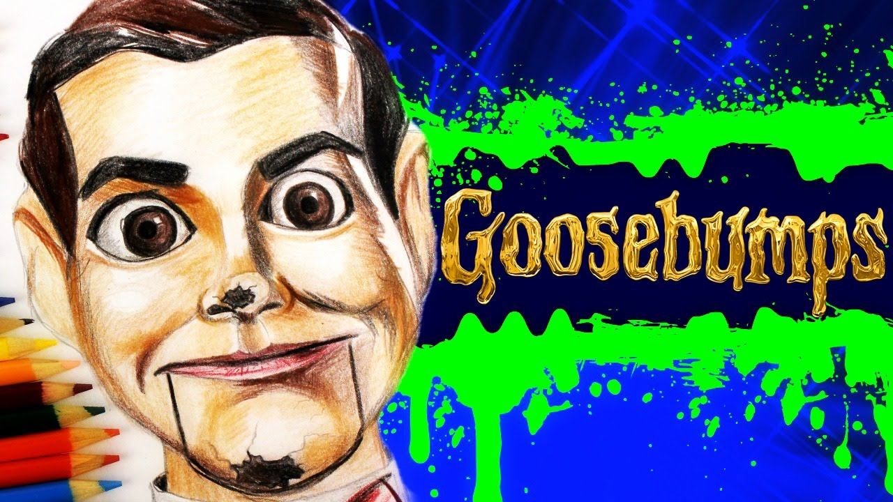 Goosebumps Learn How To Draw Slappy The Dummy  Speed