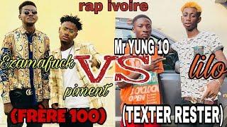Download TEXTER RESTER VS FRERE 100 lilo lekikounte x mr yung vs piment x ezamafuck . freestyle mr young