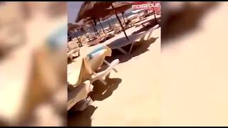 Horrifying amateur footage of Tunisia attacks unfolding ( video shqip )