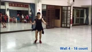 ct shuffle line dance short demo