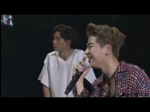 Just Go, iKON imitating Yunhyeong ver