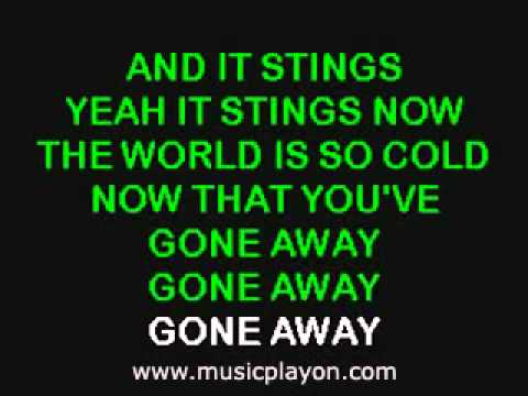 The Offspring   Gone Away Karaoke Version   YouTube