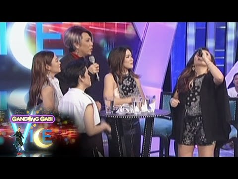 GGV: KZ, Kyla, Angeline, & Yeng try Celine Dion's vocal exercise