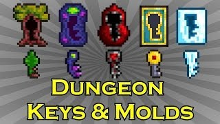 Terraria - Dungeon Keys and Molds - Easily Obtained! thumbnail