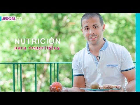 Nutrición para deportistas: Alimentación para el deporte
