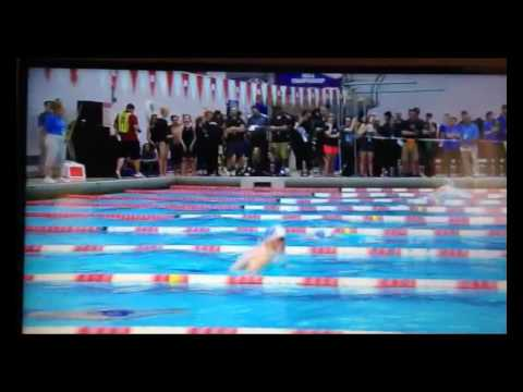 2017 NE Swimming Championship Finals - Christian Howell 57.22