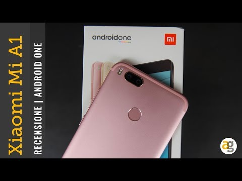 RECENSIONE Xiaomi Mi A1 Android ONE BEST BUY!! Ma....