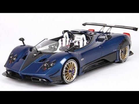 PAGANI Zonda HP Barchetta by BBR Models - Full Review