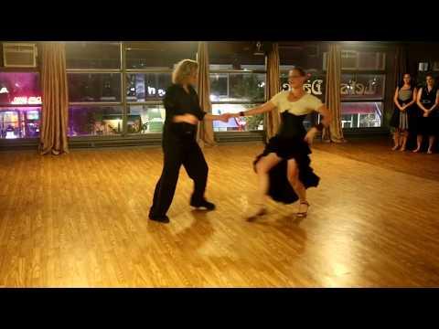 Let's Dance Studio Marilyn & Roman West Coast Swing Showcase