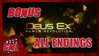 Deus Ex : Human Revolution - Toutes les fins