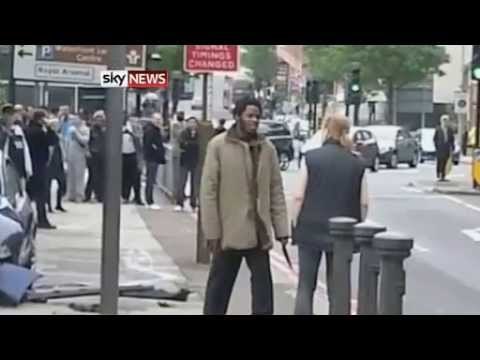 Passerby Film Woolwich Soldier Murder Attackers  London Suspect is Michael Adebolajo