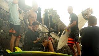 Обучение серфингу на Бали. Урок для продвинутых учеников.
