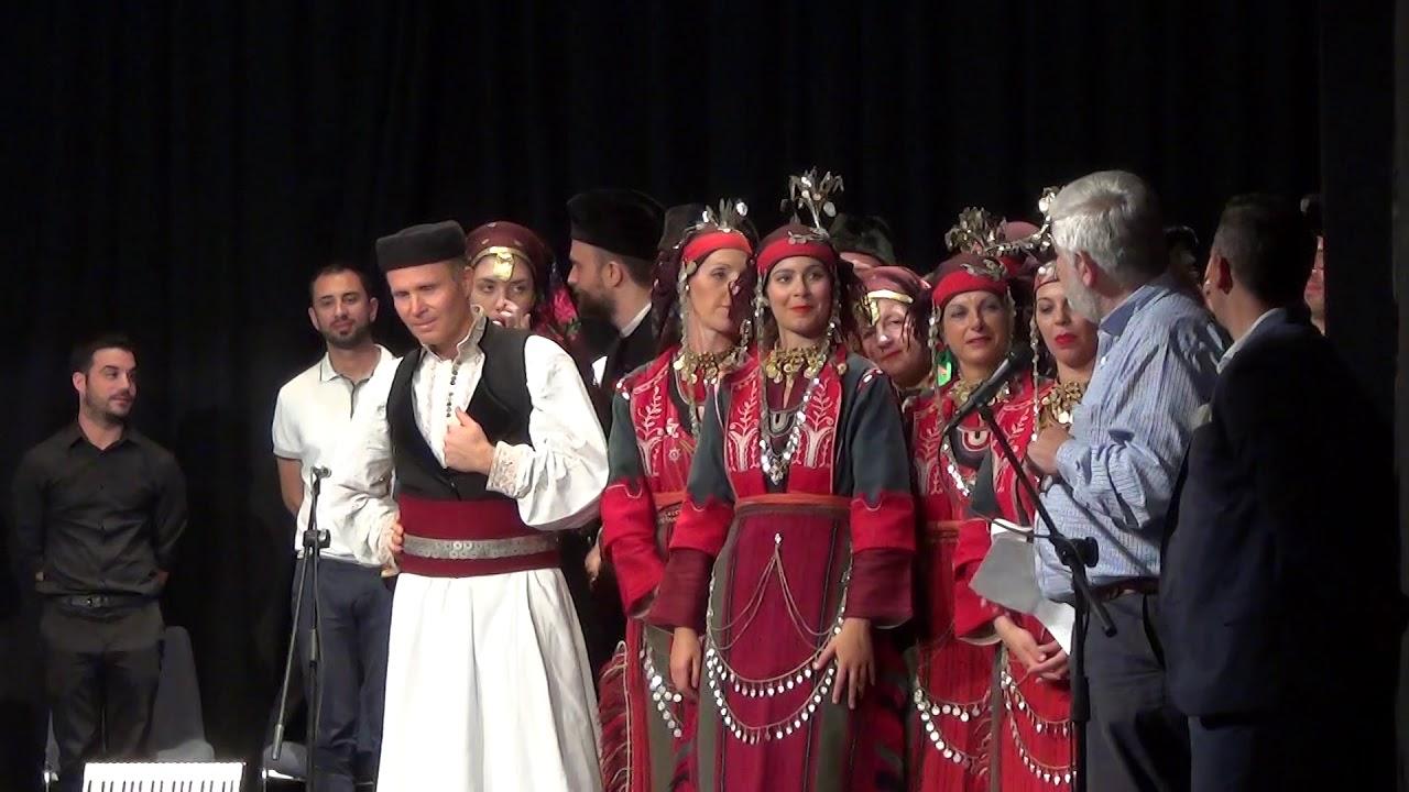 """Ο Δήμαρχος Τρίπολης στη """"Μουσικοχορευτική Συνάντηση"""" με τα παραρτήματα του Λυκείου των Ελληνίδων"""