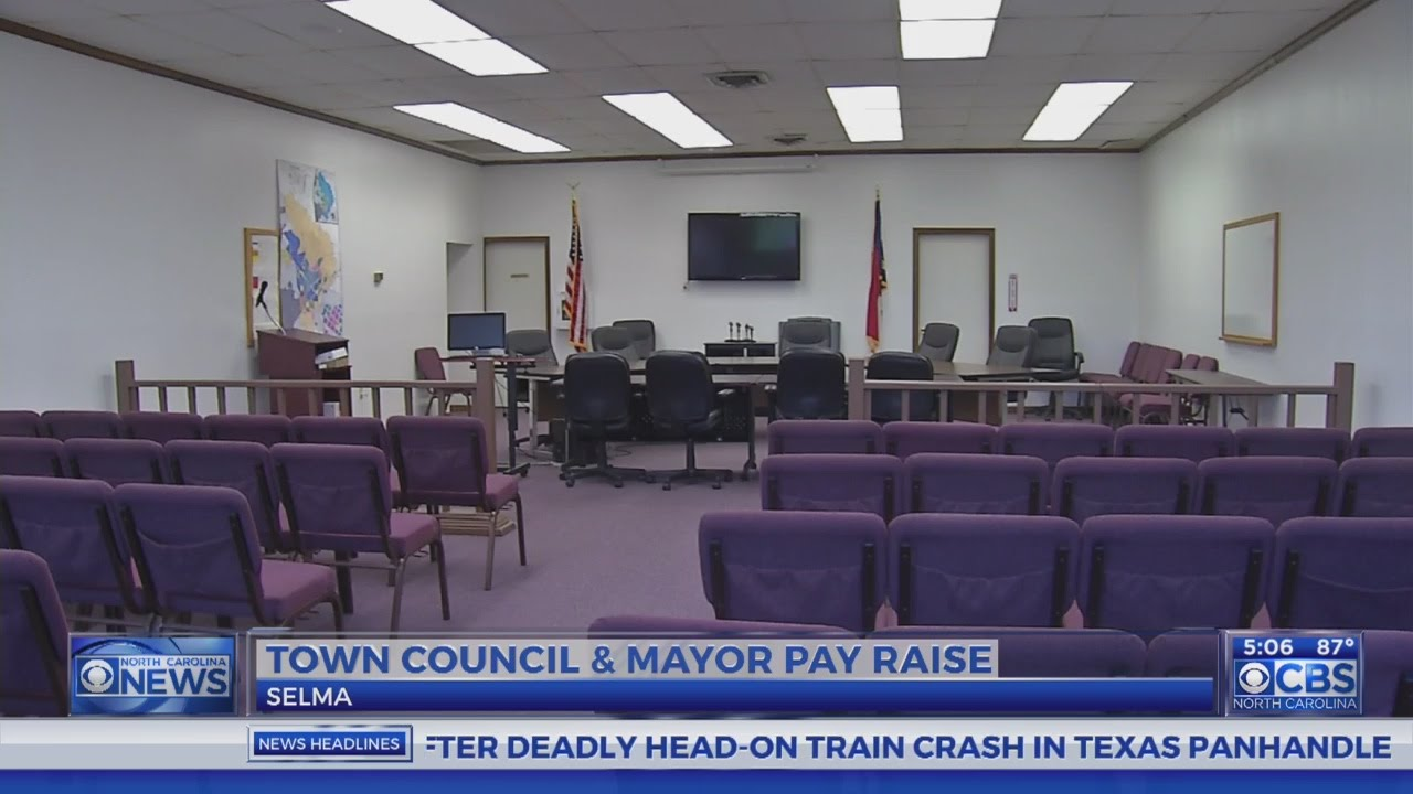 Selma Mayor Town Council Get Big Pay Raises CBS North Carolina
