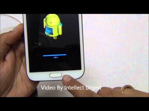 How To Update Samsung Galaxy Note And Note 2 To Android Jellybean 4.1.2