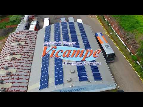 SAF SOLAR - Projeto de energia Solar na Empresa Vicampe Transporte e Turismo.