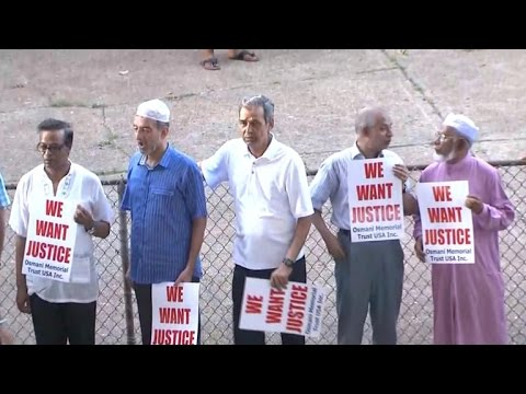 Muslims want justice after Imam's murder